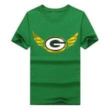 2016 Green Bay gold wings Men's T-Shirt 100% Cotton for Packers fans shirt