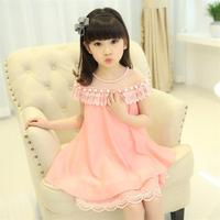 2017 New Summer Costume Girls Princess Dress Children S Evening Clothing Kids Chiffon Lace Dresses Baby