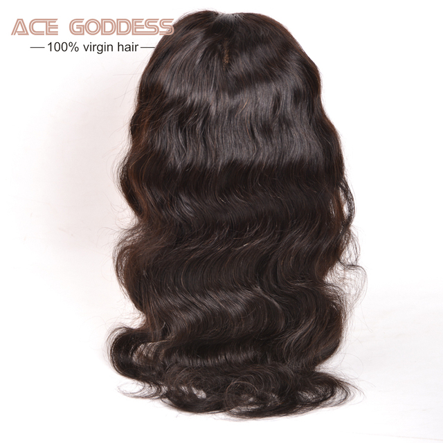 8A Grade Indian Virgin Hair Body Wave Full Lace Human Hair Wigs For Black Women 8-28 Inches Full Lace Front Wigs With Baby Hair