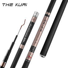 цена High Quality Carbon Power Hand Pole Fishing Rod Ultra Hard Super Light Telescopic Rod 19 Tone 2.1M-5.7M For Tilapia carp Fish онлайн в 2017 году