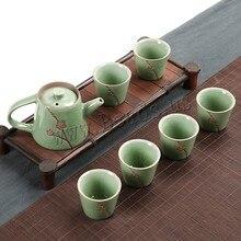 Ceramic Teapot Kettle Gaiwan Tea Cup For Puer Chinese Kung Fu Tea Pot Portable Tea Set Teaset Gaiwan Tea Ceremony Teaware Sets стоимость