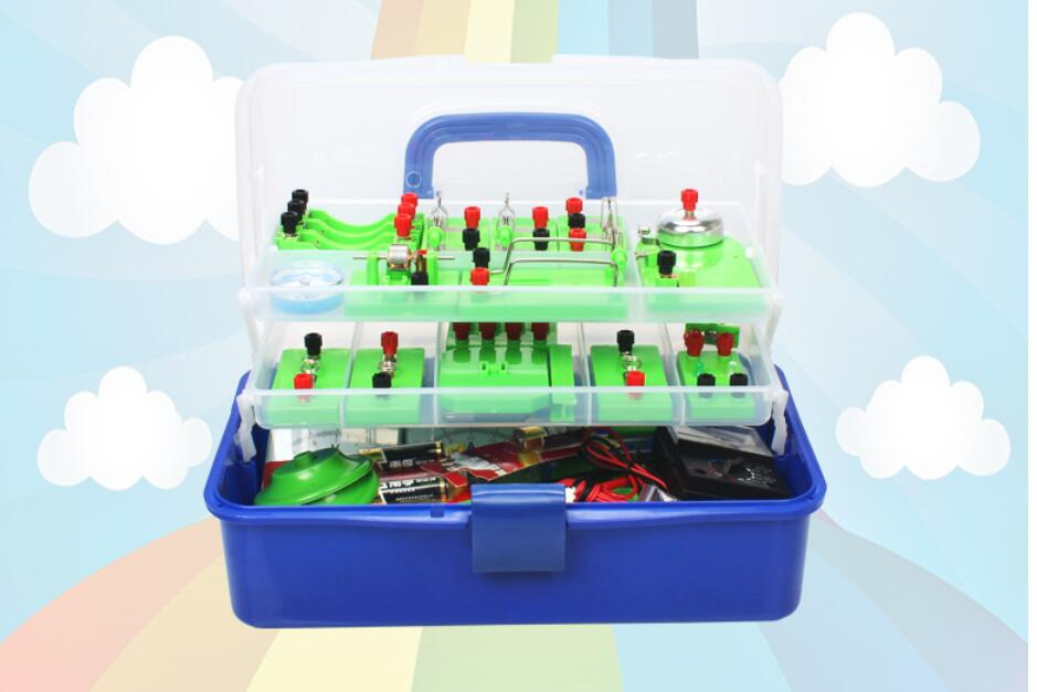 Junior High School Physics Experiment Equipment Box