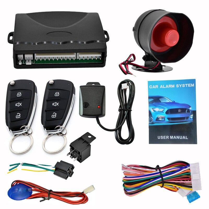 Kit de système de télécommande de voiture d'alarme de voiture chaude Anti-vol pour verrouillage de serrure de porte centrale JLD