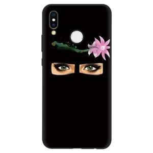Image 4 - Muzułmanin islamski Gril oczy arabski hidżab dziewczyna Case dla Huawei P inteligentny 2019 P30 P20 Mate 20 10 Lite Pro P9 P8 P10 Lite 2017 silikon