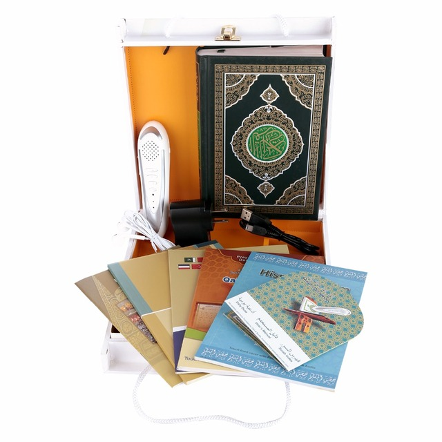8GB nice  Wooden Box Digital Holy quran read pen  Quran pen Reader  Pen Koran Player  digital voice recorder free shipping