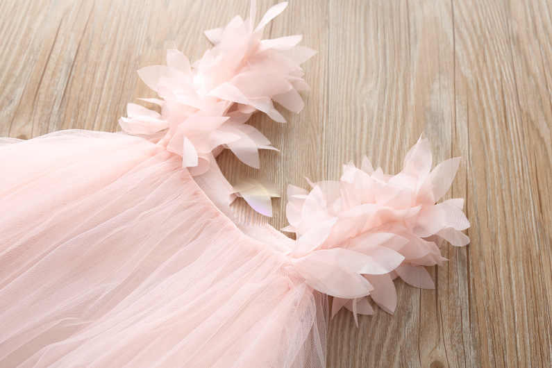 Новинка 2019 года; летнее платье для девочек; платья-пачки для девочек детская одежда вечерние костюмы принцессы для подростков 4, 5, 6 лет