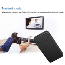Bluetooth Transmitter Receiver Wireless Stereo Audio Receiver Music Adapter Support AUX Audio Output TV Headphones Speakers