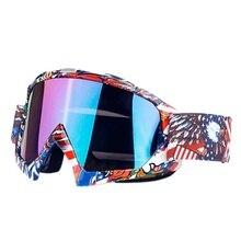 Лыжные мужские и женские противотуманные зимние очки Анти-УФ Сноуборд Снег Открытый Лыжный ветрозащитный очки