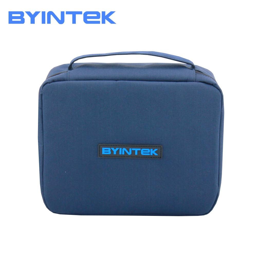 BYINTEK Marque D'origine Mini Projecteur Cas Sac Portable Tissu Protection pour CIEL GP70 K1 K2 UFO P8I MD322 R15 R11 r9 R7