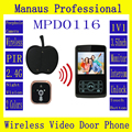 "Remote Unlock 2.4GHZ 3.5"" TFT color screen Video Digital Wireless Serveillance Security Front Door Peephole Camera D116C"