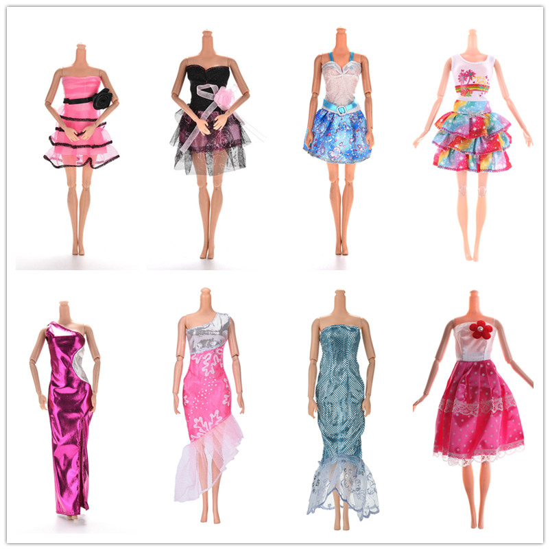 11.11 Sale Handmade Dress Wedding Party Wear Multi Styles Skirt Clothes For  Doll Accessories Gift