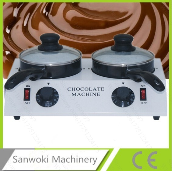 Electric commercial Chocolate melter pot