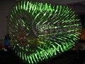 WB023 световой/Флуоресценции воды надувной цилиндр ролик/надувные ролик воды мяч ходить по воде мяч aqua качения шариковые