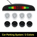 Backup Radar Monitor System Car LED Parking Sensor Assistance Reverse Backlight Display+4 Sensors