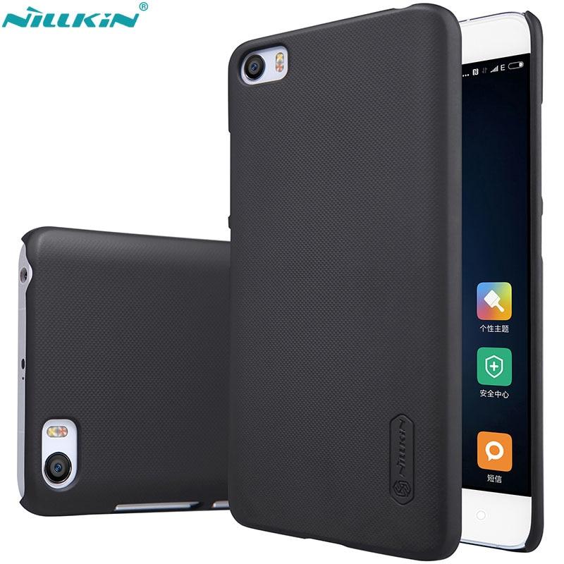 Case for xiaomi mi5 Nillkin Super Frosted Shield hard back cover case for xiaomi m5 mi5
