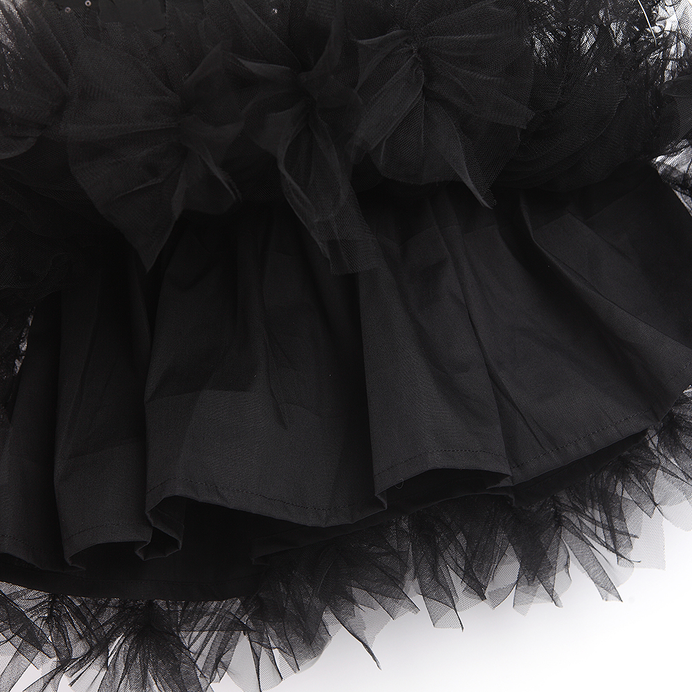 2021 Baby Girl Tutu Dress Costume For Kids Sleeveless Christening Tulle Sequined Wedding Party Princess Toddler Clothes 5