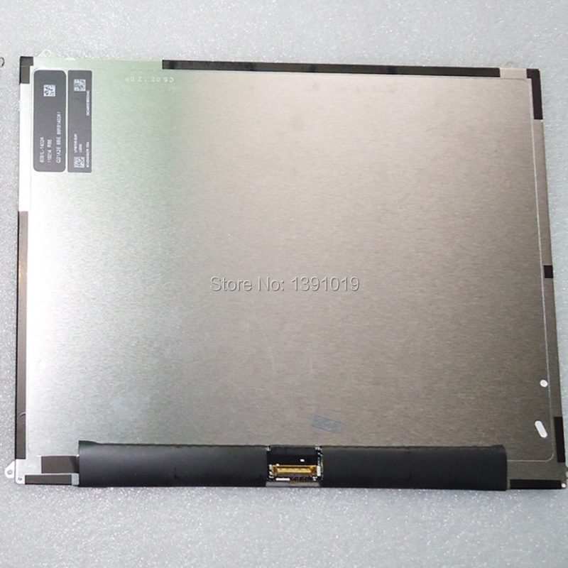 10 PCS/LOT Free Shipping 100% Original Used 9.7 LCD Display Dcreen For Ipad 2 LCD Replacement Repair Parts Best Quality