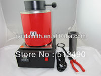 220v melt gold /copper furnace , mini gold furnace