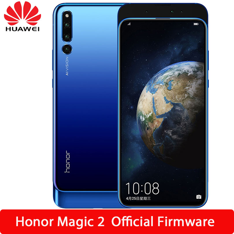 HUAWEI Honor Magic 2 Smartphone Android 9 0 kirin 980 Octa Core FingerPrint ID AI camera