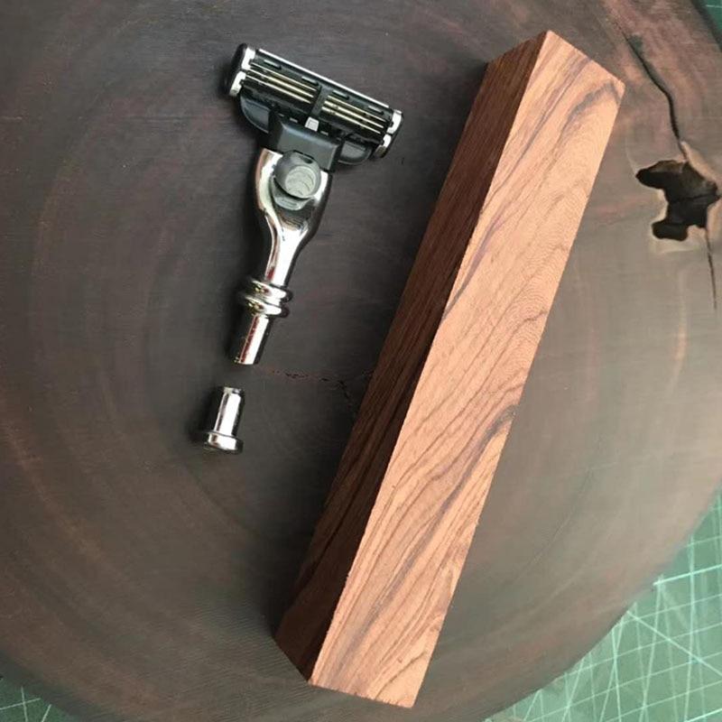 Wood Crafts DIY Pen Kits Woodturning Razor DIY Sets Stainless Steel Metal Kits DIY Gift