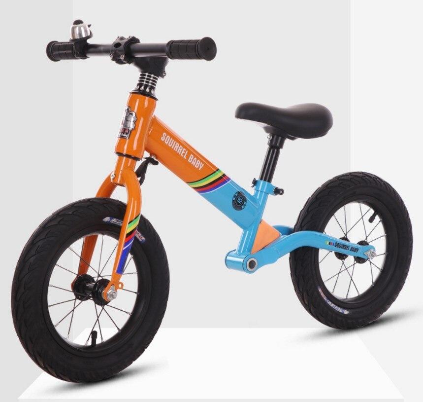 От 2 до 6 лет детский баланс велосипед без педали слайд Детский демпфер раздвижной велосипед самобаланс скутеры гоночная версия