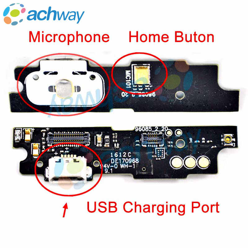 "Meizu M3 Note Charging Port +Microphone Flex Cable Charger Connector Plug For 5.5"" MEIZU M3 NOTE M681H USB Port Dock Board"