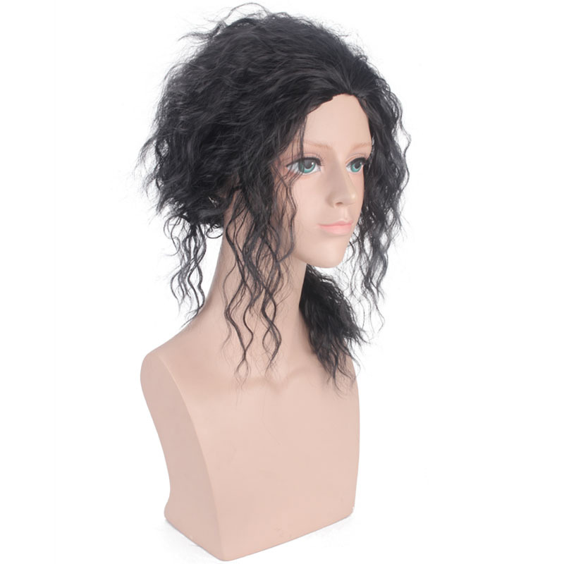 NEW Men/'s Short Hair Wig Anime Heat Resistant Halloween Cosplay Costume Party