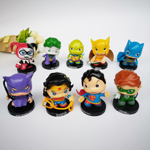 2eda11f57a937 1 Pcs DC Comic Super Hero Mulher Maravilha Mulher Gato Harley Quinn Joker  Lanterna Verde Ação