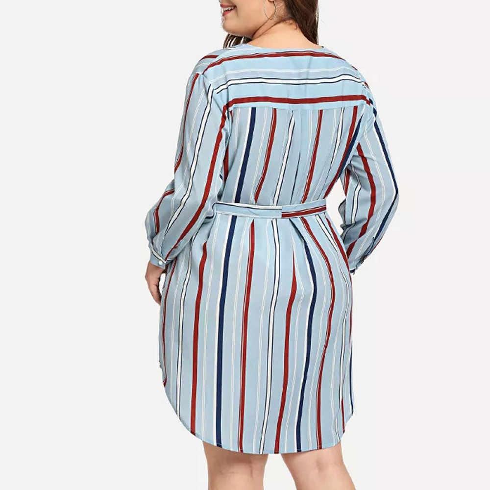プラスサイズドレスレディースストライプロングパーティードレス夏のスタイルローブフェムセクシー女性自由奔放に生きるマキシ包帯ドレス vestidos