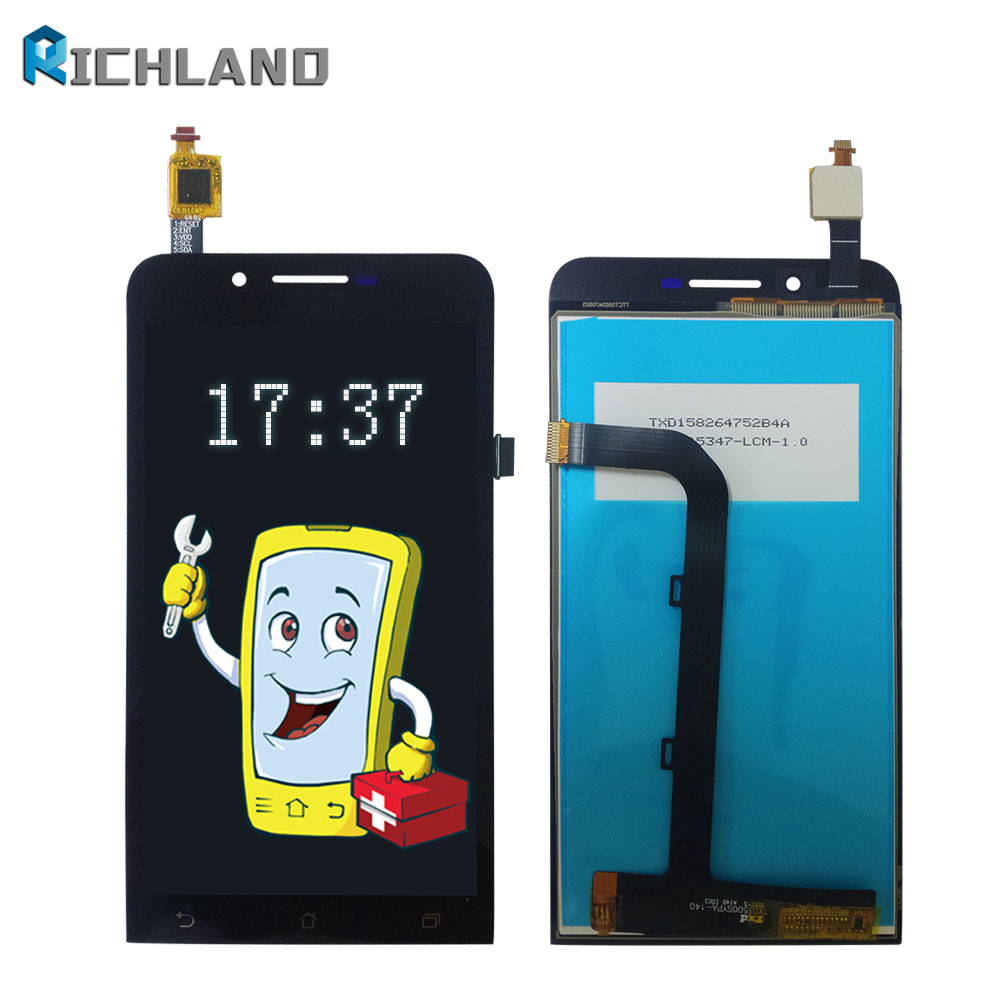 For Asus ZenFone Go ZC500TG Z00VD LCD Display+Touch Screen Panel Digitizer Accessories Replacement parts