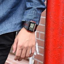 SYNOKE цифровые часы для мужчин светодиодный электронные спортивные часы водонепроницаемые мужские наручные часы Relogio Masculino Erkek Kol Saati