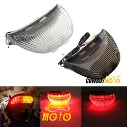 Luz traseira da cauda freio sinal de volta integrado led lanterna traseira para honda cbr600rr cbr 600 rr 2003 2004 2005 2006 cbr1000rr 2004-2007