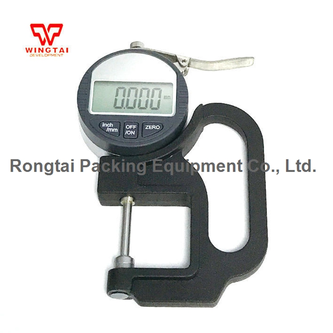 0.001mm Digital Thickness Gauge BY04 Thickness Meter For Paper & Film Thickness Tester 0-25mm cm 8000 hexagon wet film comb for coating thickness tester meter 5mil 118mil