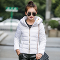 Korean female short 2017 cotton padded female women coat long sleeved jacket  free shipping