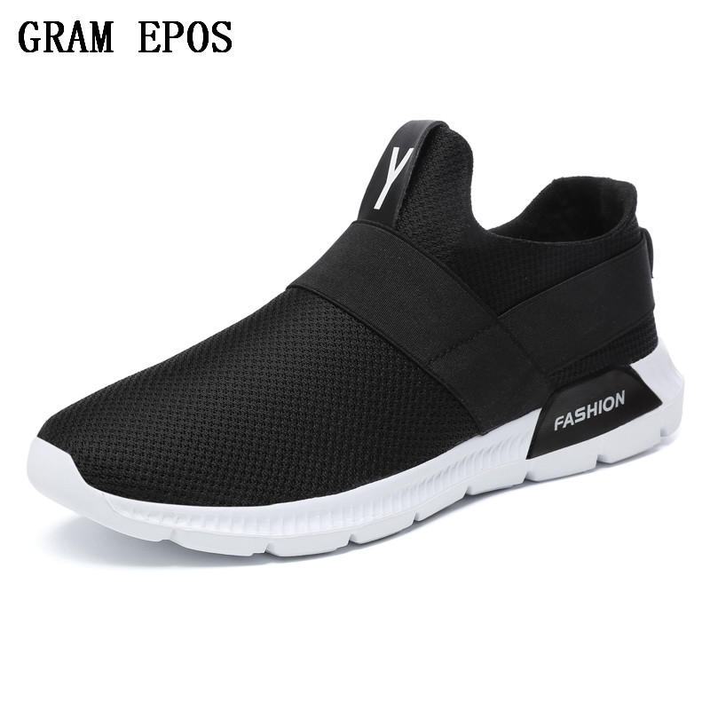 GRAM EPOS Spring summer Casual male casual flats chaussure Homme Zapatios Men Zapatillas Deportivas Men Trainers Air Mesh shoes ...