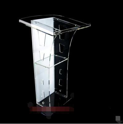 Podium Speech Stand Acrylic Podium Crystal Podium Bar KTV Consultancy Taiwan Welcome Table Conference Podium