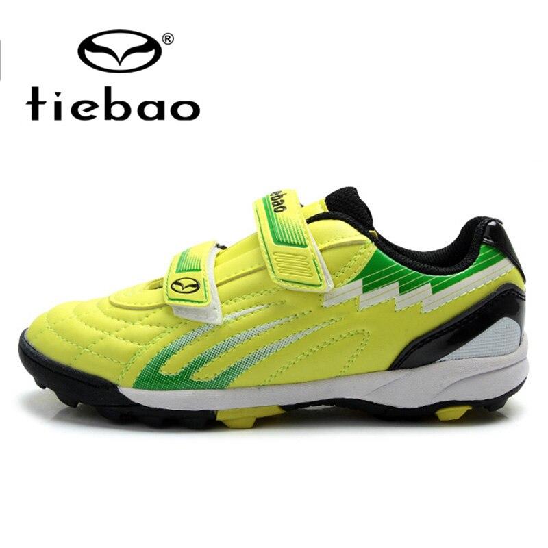 Comprar ahora TIEBAO zapatos de fútbol al aire libre los niños zapatillas  niños adolescentes TF Turf Sole botas de fútbol EU28-38 padre-niño Zapatos c298e71763d52