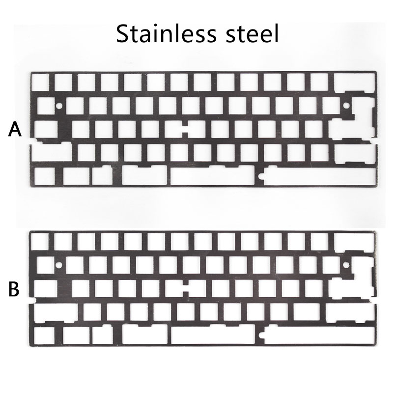 Alu plate dz60 plate for DIY mechanical keyboard Stainless steel plate gh60 все цены