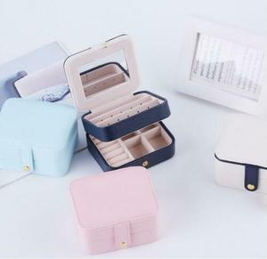 Image 1 - New Arrival Portable Jewellery Box Women Lady Travel Packaging Storage Box Organizer Makeup Case Hot Jewellery Display Box