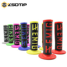 "ZSDTRP-Motorcycle High Quality Protaper Dirt Pit Bike Motocross 7/8"" Handlebar Rubber Gel Hand Grips Brake Hands(China)"
