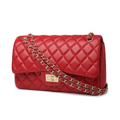 2017 New Fashion leather messenger chain bags,brand desinger rhombic women mini Tote Clutch bag winter handbag crossbody bag