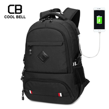 Fashion Men Women Backpack Sports Hiking Travel Bag School Backpack For Teenage External USB Charge Students Backpacks