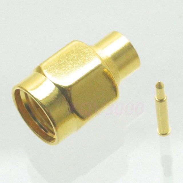 10 st cke verbinder sma stecker solder pin f r halbstarre. Black Bedroom Furniture Sets. Home Design Ideas