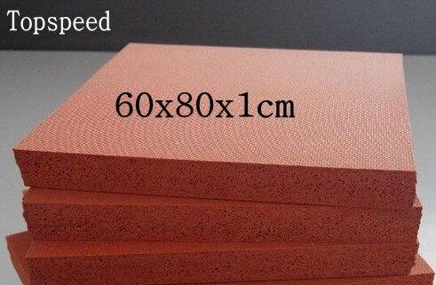 Mat Heat-Press-Machine Silicone-Pad For Sublimation 60x80x1cm 2pcs High-Temperature-Resistant