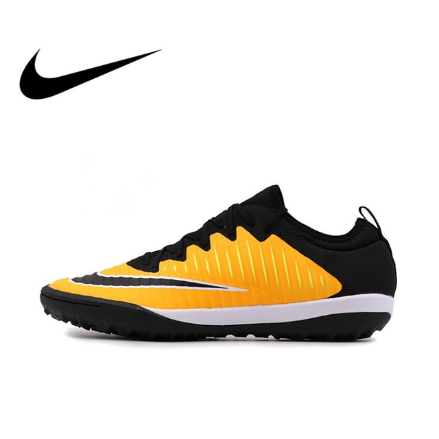 48685a715e263 Original oficial NIKE MERCURIAL final II TF hombres Luz de zapatos de  fútbol zapatillas de deporte