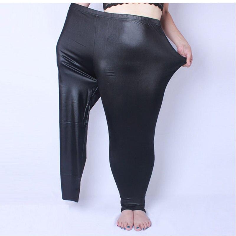 Women Autumn   Leggings   Plus Size XL- 6XL Big Sizes Large Slim   Legging   Pants Black Warm All-match