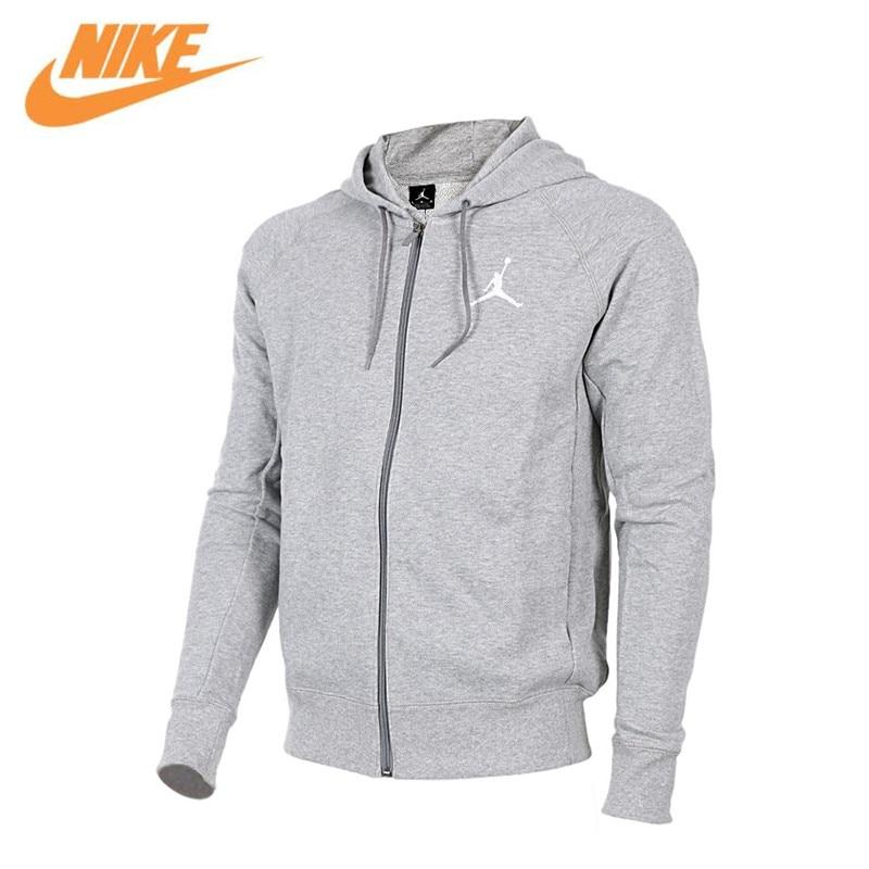 Nike men's Jordan sports leisure running Hooded Jacket 822659-063 nike nike fuelband sports bracelet battery cover green m