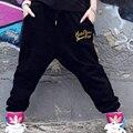 Новый 2016 Дамской одежды Зима Hip Hop Ветрозащитный Военные Брюки-Карго Случайные Прямые Длинные Мешковатые Армейские Брюки для девочек