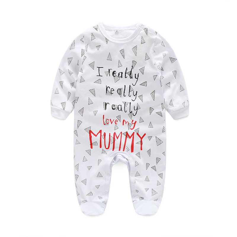 Toddler Baby Rompers Autumn Roupas Infant Jumpsuit Long Sleeve Boy Clothing Newborn Baby Clothes Spring Cotton Baby Girl Clothes newborn baby girls rompers 100% cotton long sleeve angel wings leisure body suit clothing toddler jumpsuit infant boys clothes