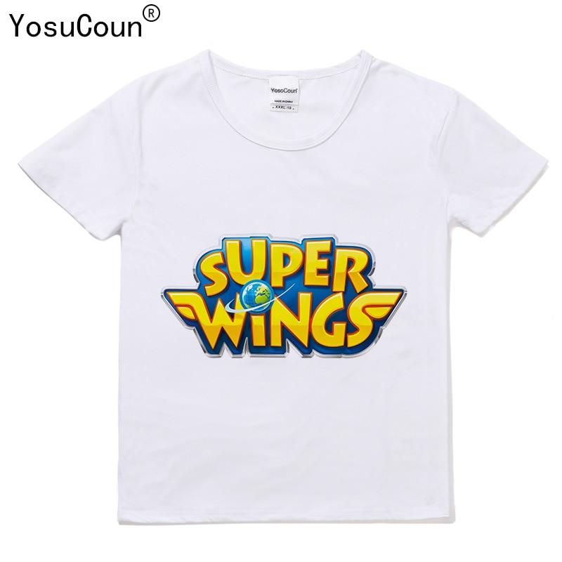 Super Wings T Shirt Boys T-shirts Cartoon Kids Boy T-shirt For Kids Tops Girl T Shirt For Girls Kid Boys Shirt Super Wings T135X